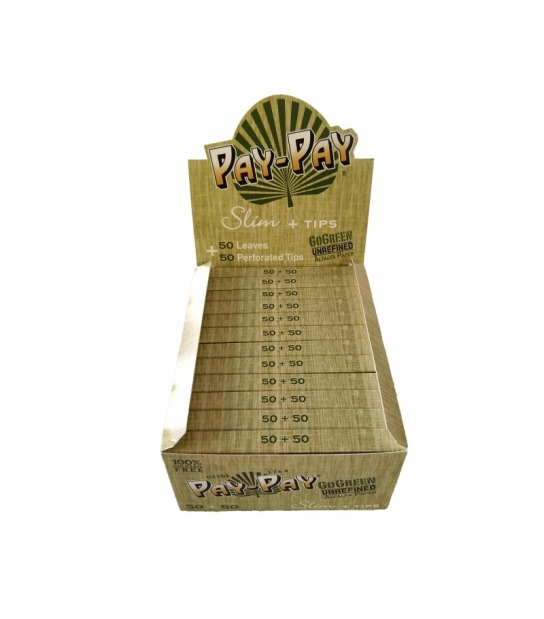 Papel Pay-Pay Gogreen Slim King Size (50uds)