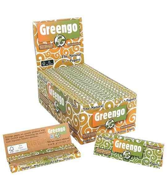 Papel Greengo 1 1/4 (50 uds)
